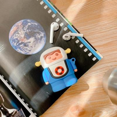 에어팟 1 2 장난감 캐릭터 실리콘 케이스_456 우주인2