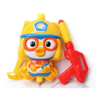 뽀로로 소방관 배낭물총 캐릭터물총 물놀이 물총놀이