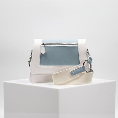 [TYCHE] Small Cross Handbag - Dusk Blue