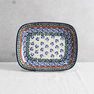 폴란드그릇 아티스티나 라운드직사각접시(소) 패턴582