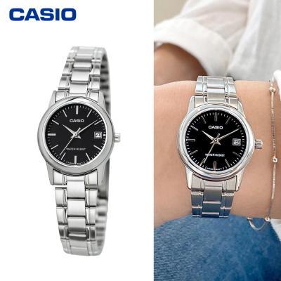 카시오 여성용 메탈시계 LTP-V002D-1A