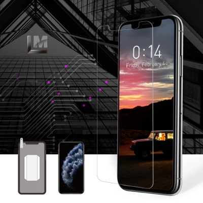 New리더스엠 아이폰 11 강화유리 액정보호필름