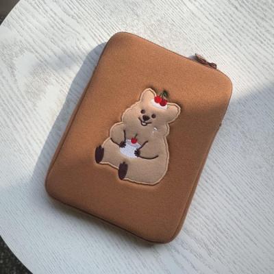 [영이의숲] 체리꽃카 태블릿 파우치 2종