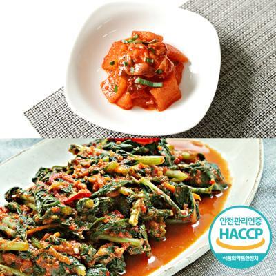 [HACCP] 한옹 꼴깍 400g + 열무김치 3kg