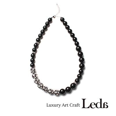 [레다주얼리] 파리지엔느 Necklace (블랙)