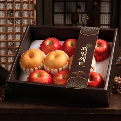 [과일명가] 가을햇살 담은 햇사과,배 혼합세트 3.4kg