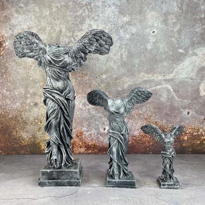 승리의 여신 니케 조각상 석고상 소형15cm 2종빈티지