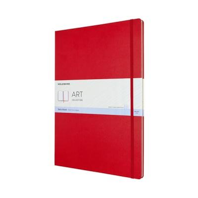 몰스킨 아트컬렉션-스케치북/레드 하드 A3