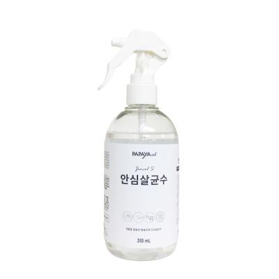 진콜에스 안심살균수 손소독 세정제 310ml
