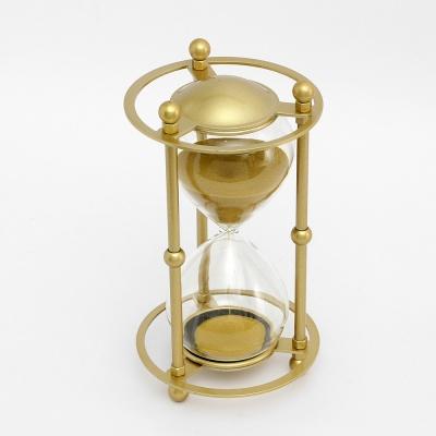 골드메탈 인테리어 모래시계(30분) (골드)