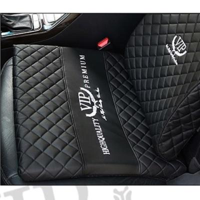 리무진엠보 메모리폼 가죽쿠션 방석 자동차용품 차량