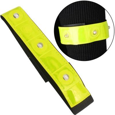 LED 안전밴드 조깅 스키 자전거 야외활동 형광 밴드