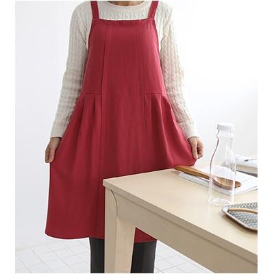 [콩지] 드레스 앞치마