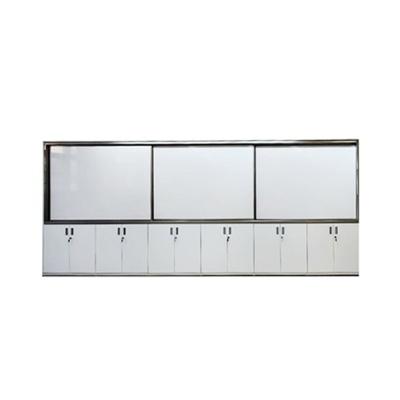 카모스 하부수납장 칠판(강철,3장)1290x4800mm