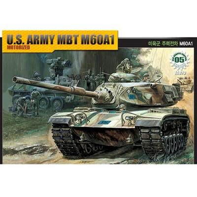 (아카데미과학-ACTA079) 1/48 미육군 주력전차 M60A1 [모터] (13311)  탱크 프라모델