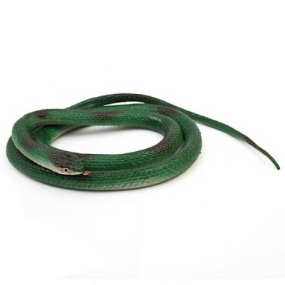 리얼 뱀 모형 (초록)
