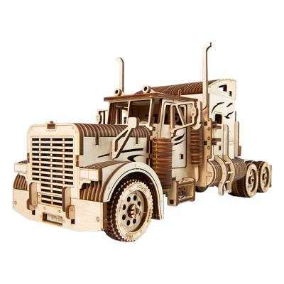 541피스 목재 입체퍼즐 - 유기어스 헤비 트럭
