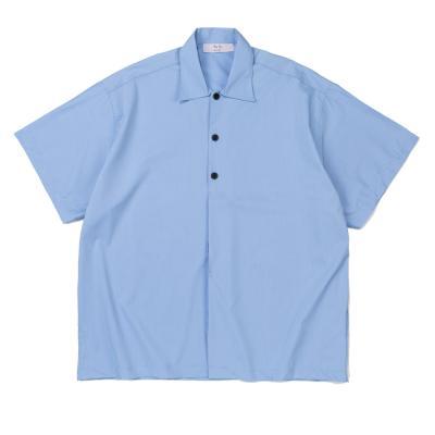 CB 하프 하이드 빅 셔츠 (블루)