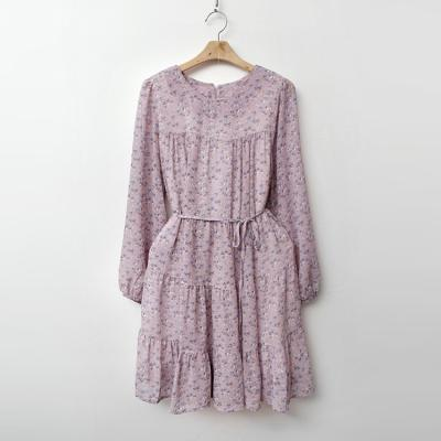 Flower Chiffon Cancan Dress
