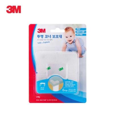 3M 투명 코너 보호대 4개입 투명 [00116847]