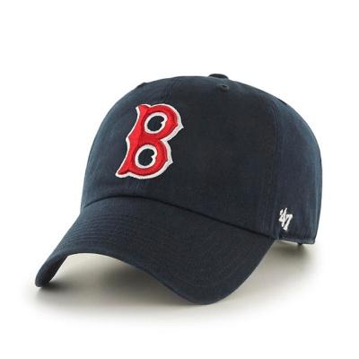MLB모자 보스톤 레드삭스 네이비 레드레트로빅로고