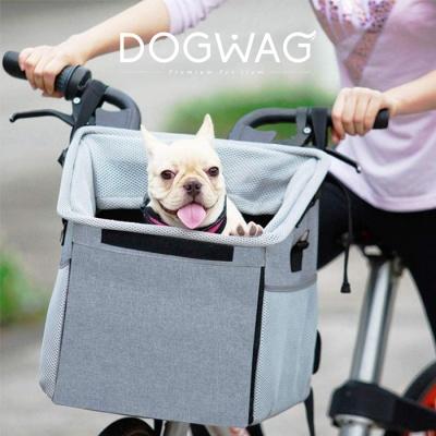 도그웨그 강아지 자전거 바구니 캐리어 이동장