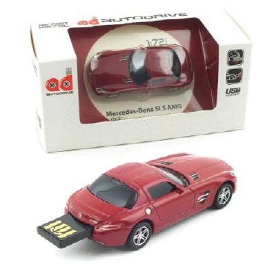 1/72 메르세데스 벤츠 SLS AMG USB 16GB (WE002152RE) USB 메모리 모형자동차