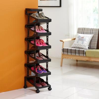 디자인룸즈/심플 지그재그 신발수납장 11족(솔통)