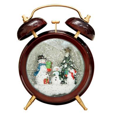 [adico]알람시계 워터볼 - 눈사람