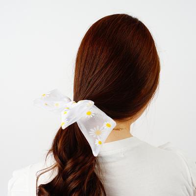 데이지쉬폰 리본머리끈&오간자곱창밴드