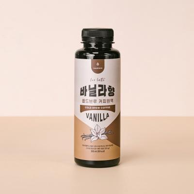[라떼전용] 핸디엄 바닐라향 콜드브루 커피원액 300ml