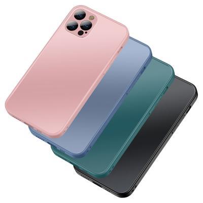 P568 아이폰12미니 지문방지 무광 매트 하드 케이스