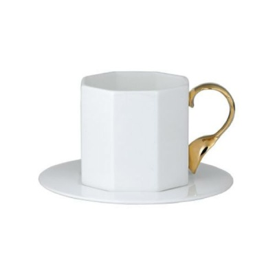 [TwigNY] 커트러리 골드 커피잔&소서