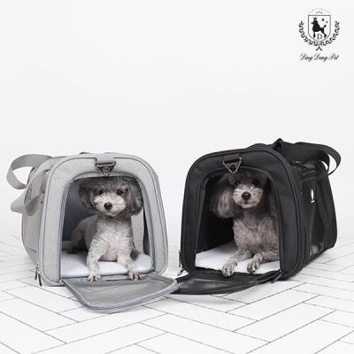 [딩동펫]애견 이동가방 강아지이동가방 블랙라벨