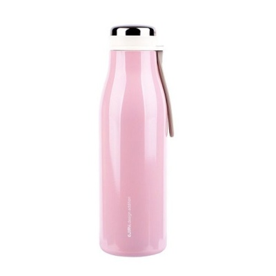 에지리 진공 텀블러-핑크 500mL