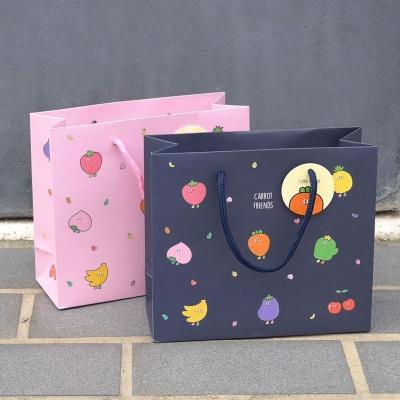 쇼핑 백 소형 선물 포장 종이 가방 봉투 기프트