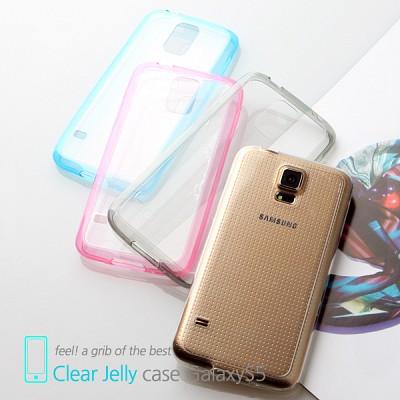 마주로 갤럭시S5 초슬림 클리어 젤리케이스 MAJURO Clear Jelly Case GalaxyS5