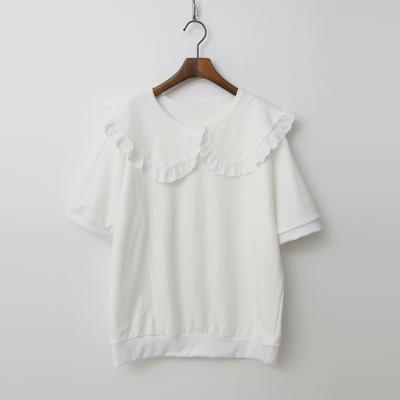Sailor Frill Sweatshirt - 반팔