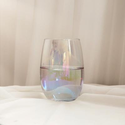 인블룸 홈카페 메리 홀로그램 유리컵 500ml