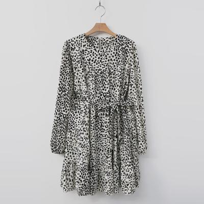 Leopard Cancan Dress