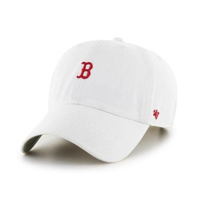 MLB모자 보스톤 레드삭스 화이트 레드미니로고