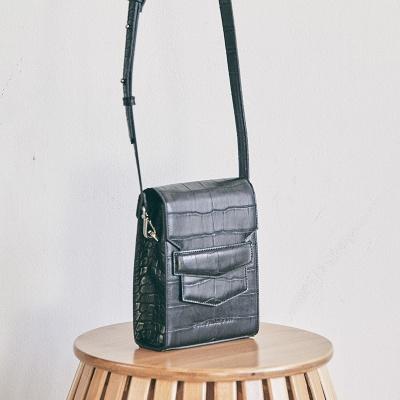 Croc mini sugar bag_black