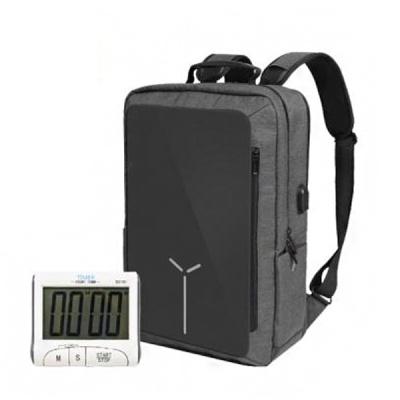 스마트 RFID차단 USB충전 Editor Bag (타이머 세트)