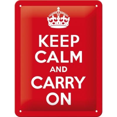 노스텔직아트[26165] Keep Calm and Carry On