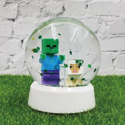 마인크래프트 피규어 스노우볼 만들기 DIY 세트