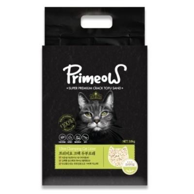 프리미요 크랙 고양이 두부모래 오리지날3.8kg