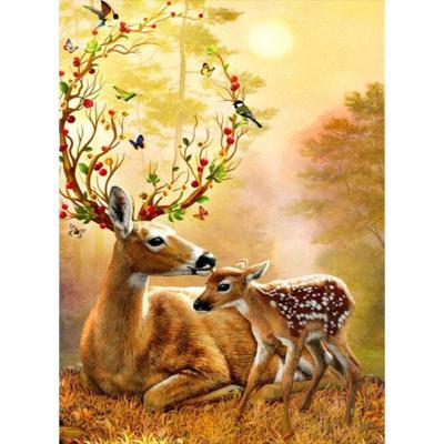 1000피스 가을의 사슴가족 WPK1000-51