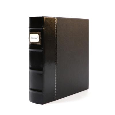 모던 클래식 대용량 포토앨범 160매 벨라지오 블랙