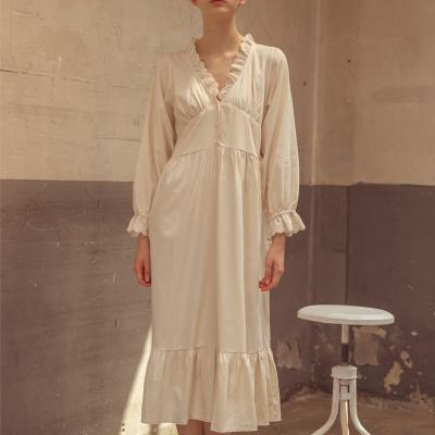 Angel 콩단추 면원피스잠옷 공주잠옷