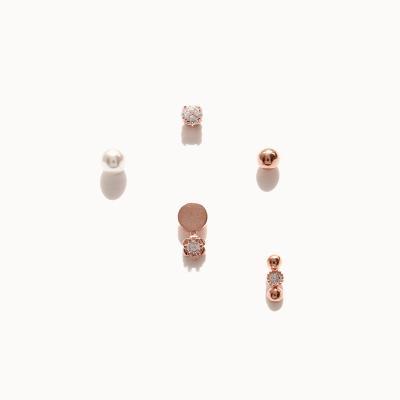 제이로렌 0M03000 로즈골드 귀걸이세트 (4 Type)